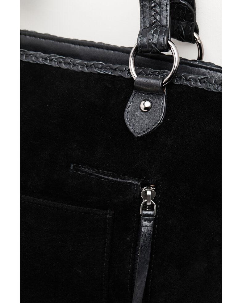 Idyllwind Women's Wild Roamer Fringe Tote Bag, Black, hi-res