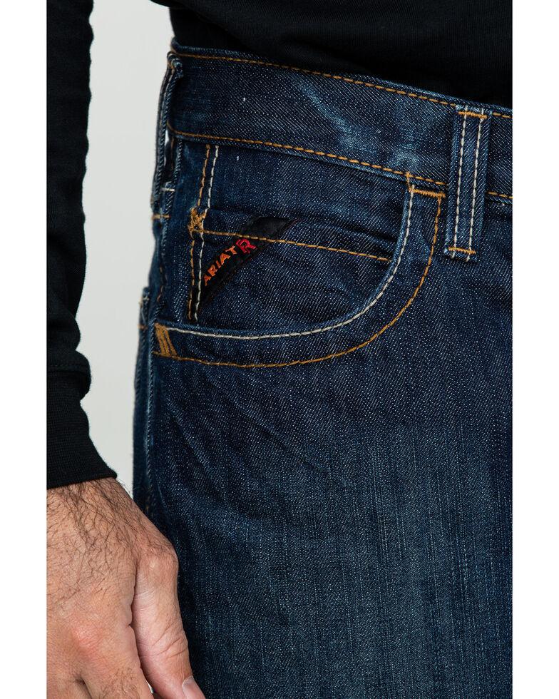 Ariat Shale Fire Resistant Bootcut Work Jeans, Denim, hi-res