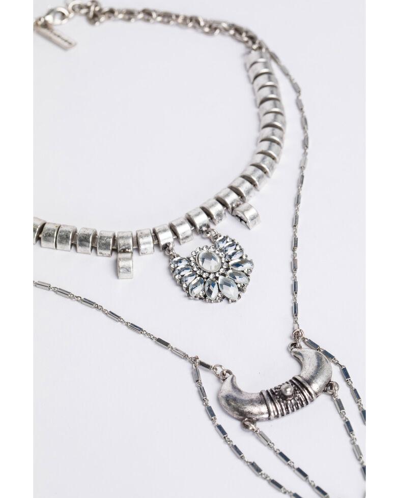 Idyllwind Women's Rhinestone Nights Necklace, Silver, hi-res