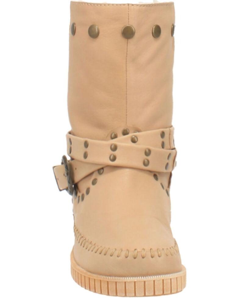 Dingo Women's Malibu Western Boots - Round Toe, Sand, hi-res
