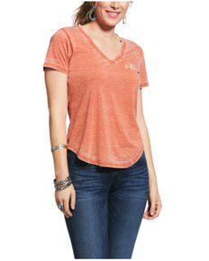 Ariat Women's Bombay Brown Wild Bunch Graphic Tee , Brown, hi-res