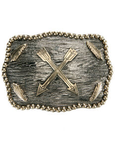 AndWest Crossed Arrows Iconic Buckle, Gold, hi-res