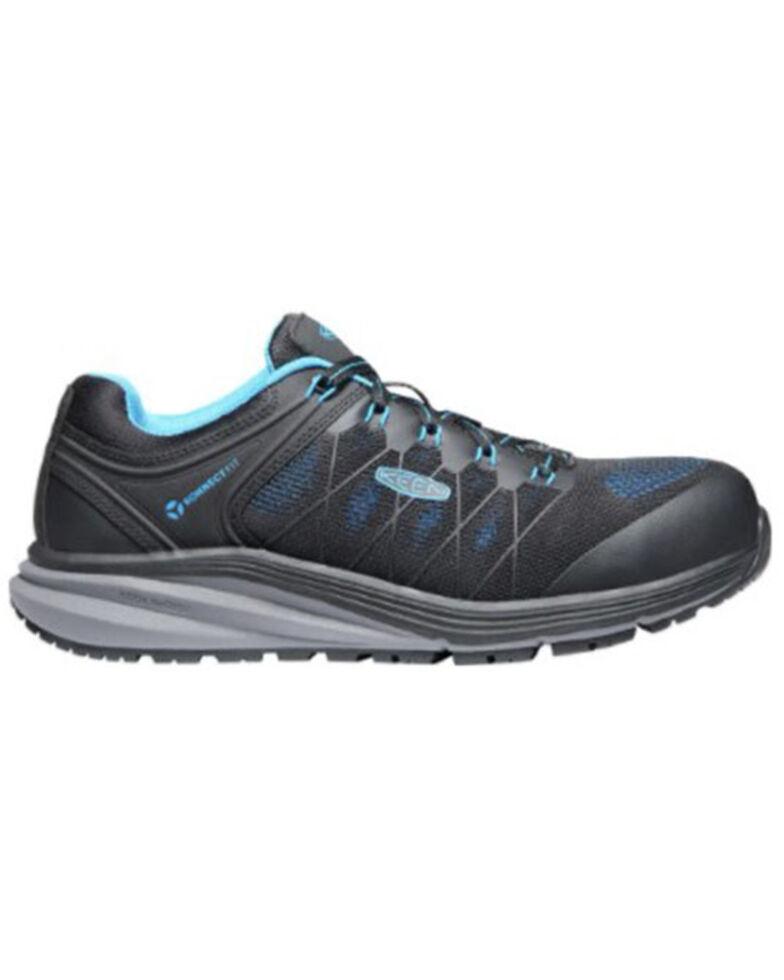 Keen Men's Vista Energy Work Shoes - Carbon Toe, Blue, hi-res