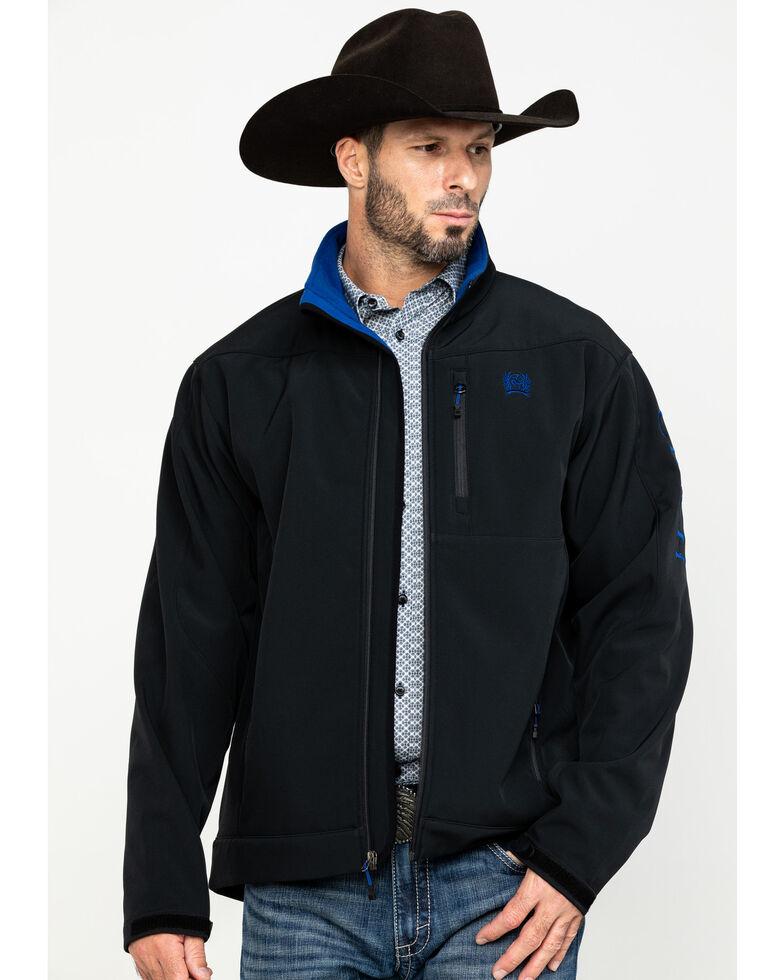 Cinch Men's Solid Bonded Jacket - Big , Black, hi-res