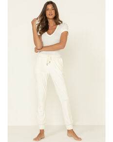 Z Supply Women's Velour Pants, White, hi-res