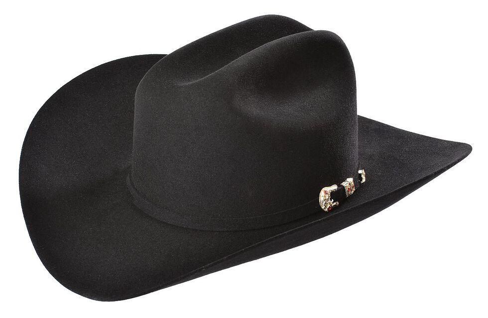 Larry Mahan 10X Tucson Fur Felt Cowboy Hat, Black, hi-res