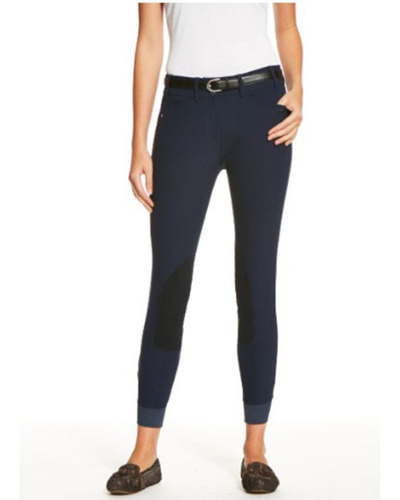 Ariat Women's Heritage Elite Riding Jeans, Navy, hi-res