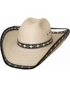 cf9f12274ea Bullhide Custom Made Palm Leaf Straw Cowboy Hat