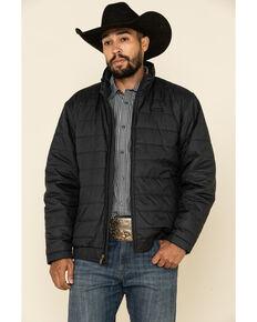 Ariat Men's Black Mosier Quilted Concealed Carry Jacket, Black, hi-res