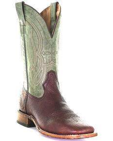 Corral Men's Bull Shoulder Western Boots - Square Toe, Brown, hi-res