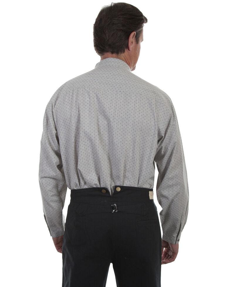 Rangewear by Scully Men's Grey Casual Long Sleeve Western Shirt , Grey, hi-res