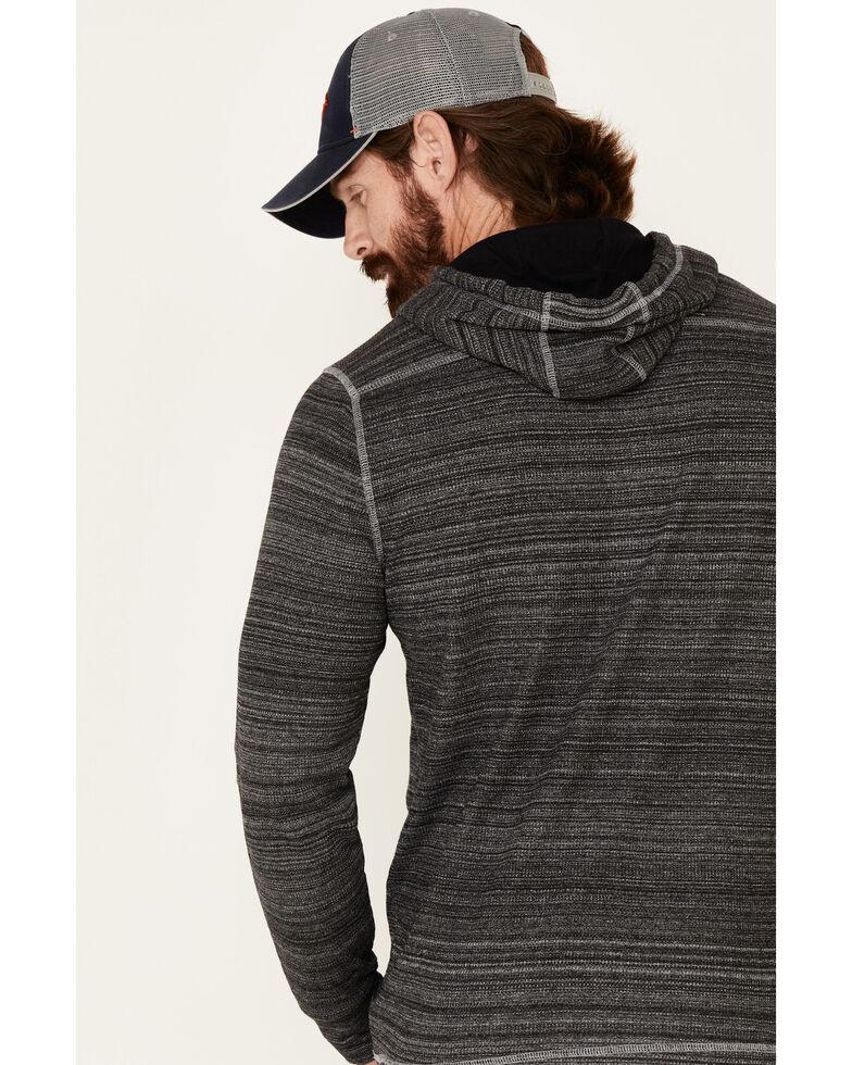 Flag & Anthem Men's Black Emmett Space Dye Hooded Sweatshirt , Multi, hi-res