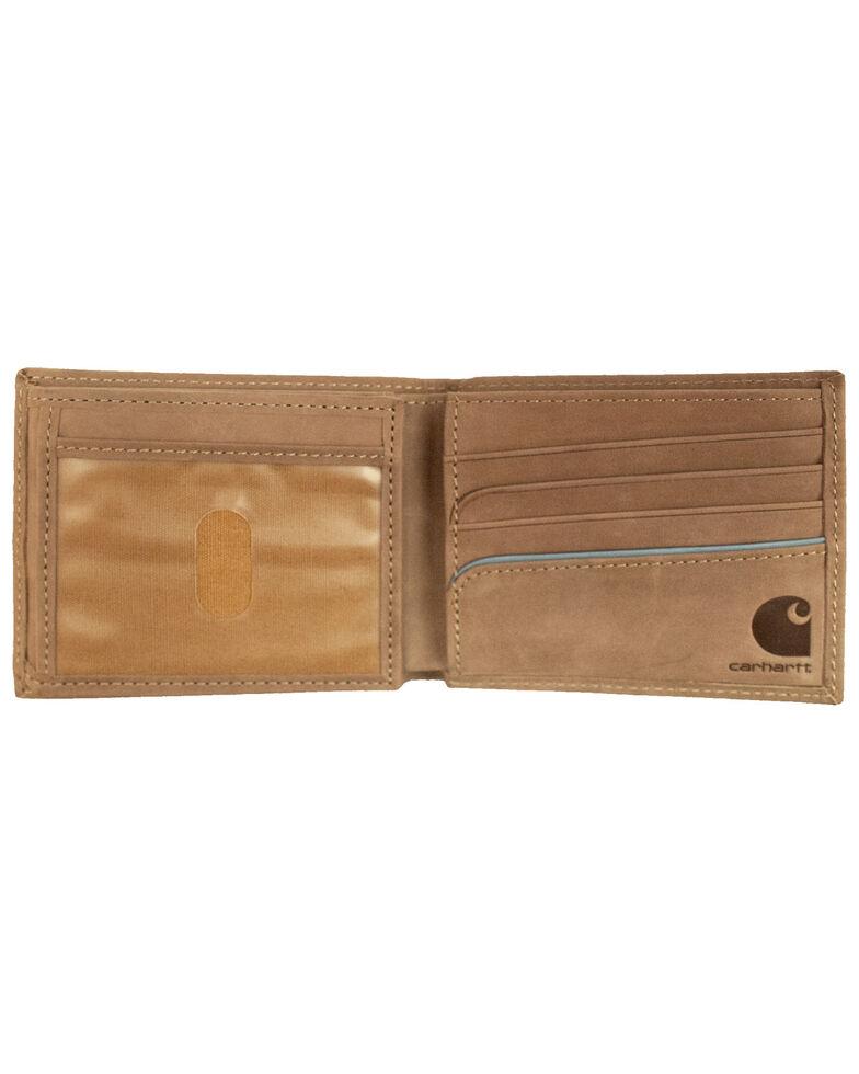 Carhartt Men's Two-Tone Billfold Wallet, Brown, hi-res