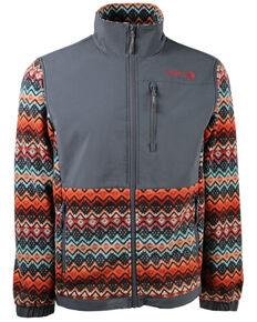 HOOey Men's Multi Aztec Fleece Zip-Up Jacket , Multi, hi-res