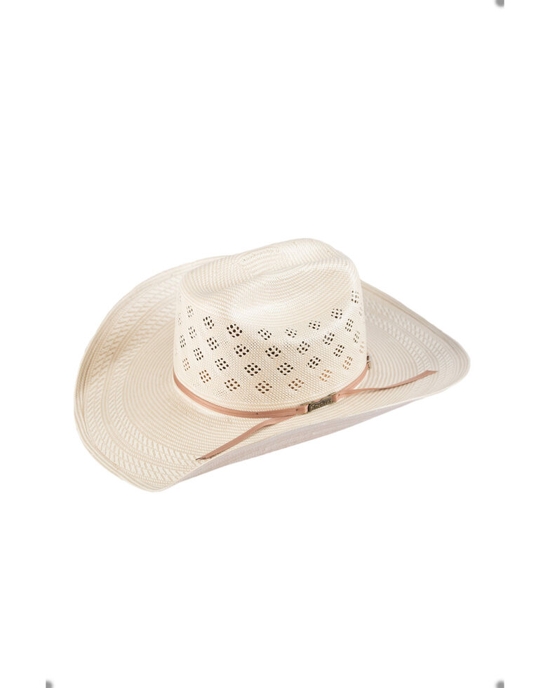 American Hat Co Men's Natural Cowboy Hat, Natural, hi-res
