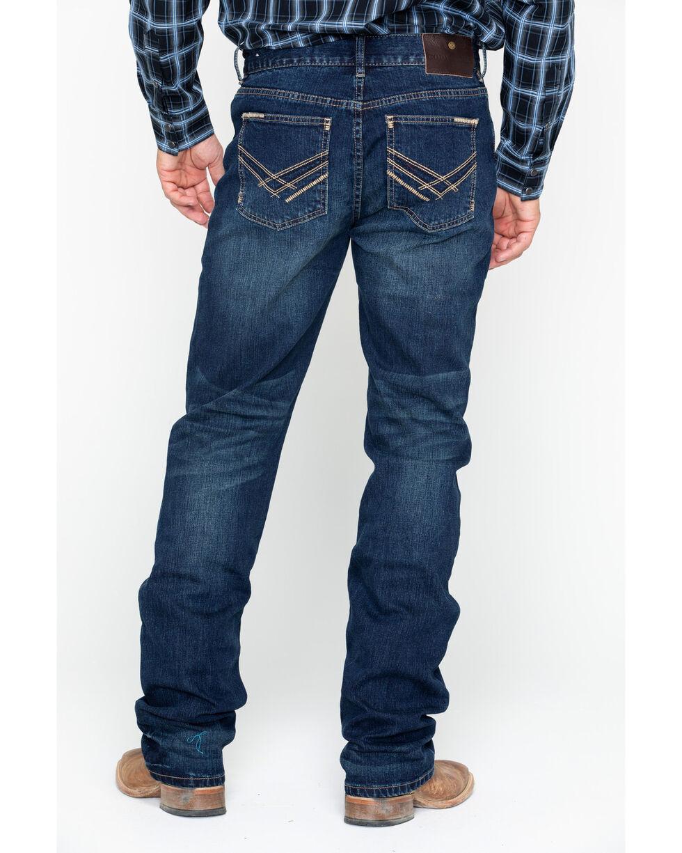 Cody James Men's Wichita Dark Slim Straight Jeans , Blue, hi-res