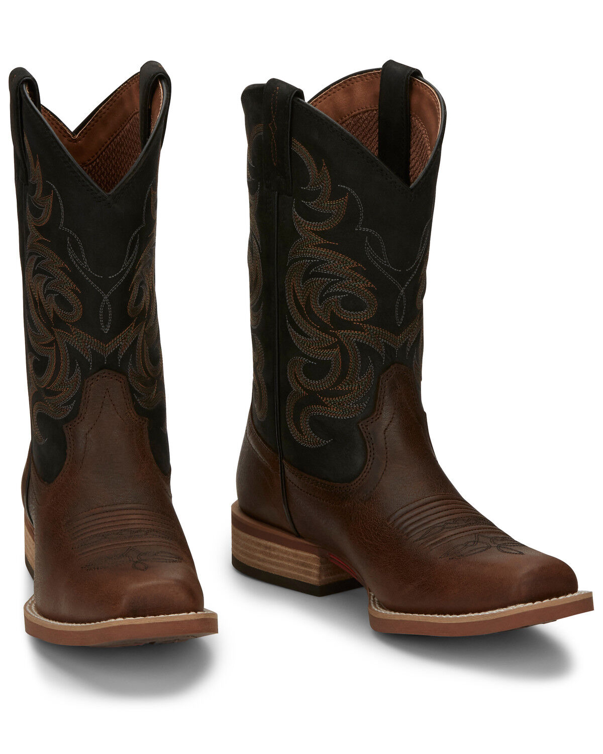 Cowman Brown Western Boots - Square Toe