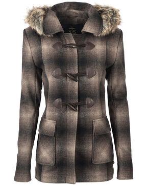 STS Ranchwear Women's The Story Wool Jacket, Brown, hi-res