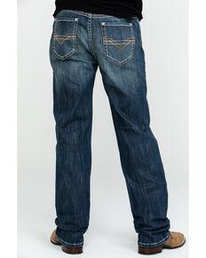 Rock & Roll Cowboy Men's Reflex Double Barrel Relaxed Boot Jeans , Blue, hi-res