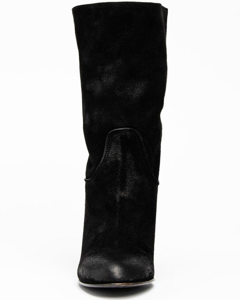 Free People Women's Dakota Heel Western Boots, Black, hi-res