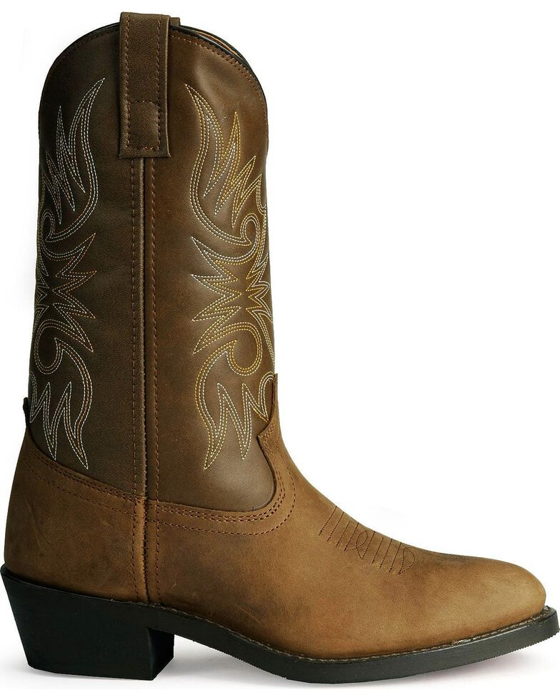 Laredo Men's Cowboy Work Boots - Medium Toe, Distressed, hi-res