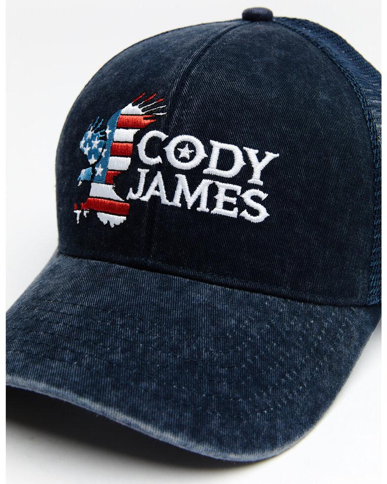Cody James Men's Patriotic Eagle Mesh Cap , Blue, hi-res