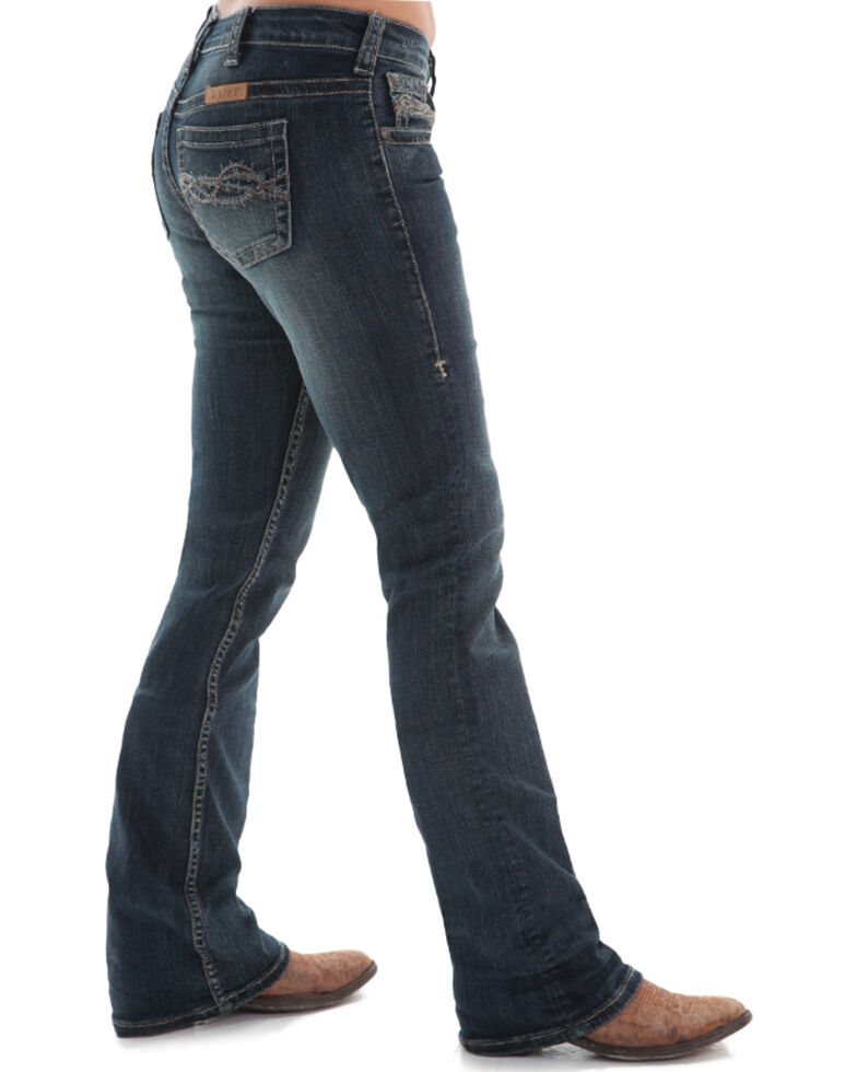 Cowgirl Tuff Women S Dark Wash Don T Fence Me In Jeans Country Outfitter