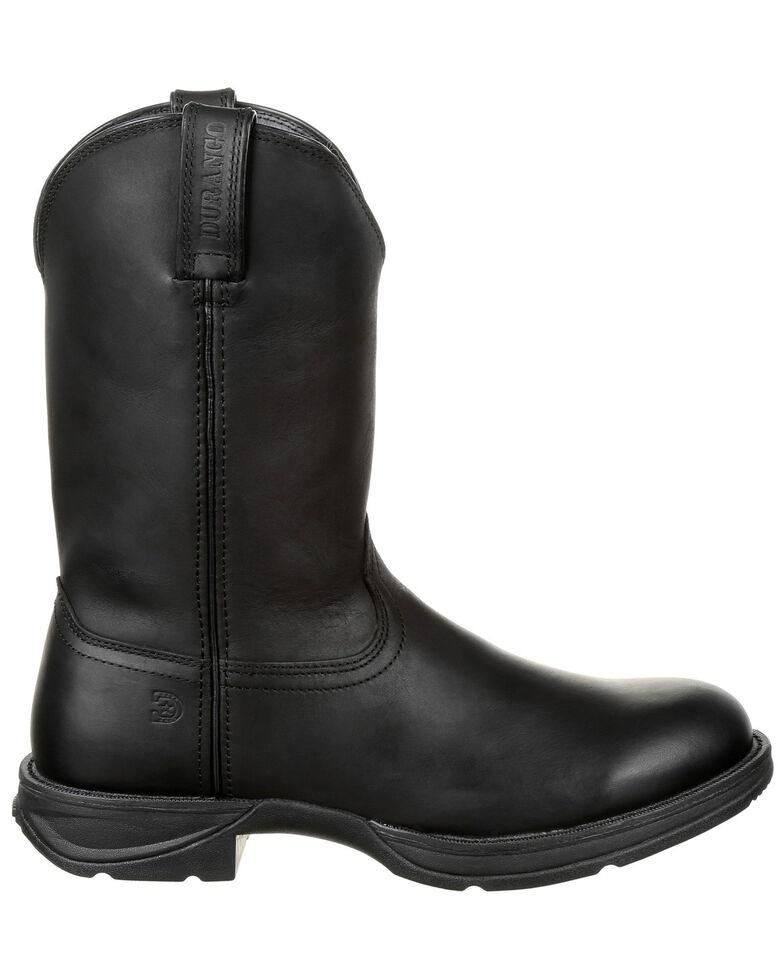 Durango Men's Rebel Western Boots - Round Toe, Black, hi-res
