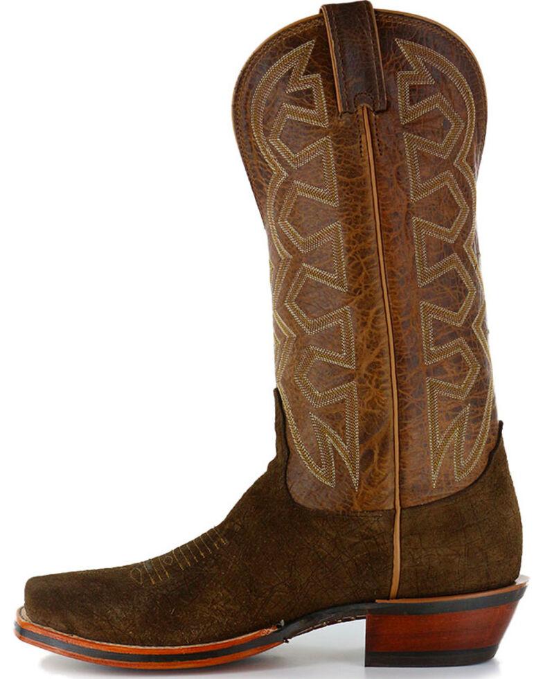 Nocona Men's Hippo Print Western Boots, Brown, hi-res