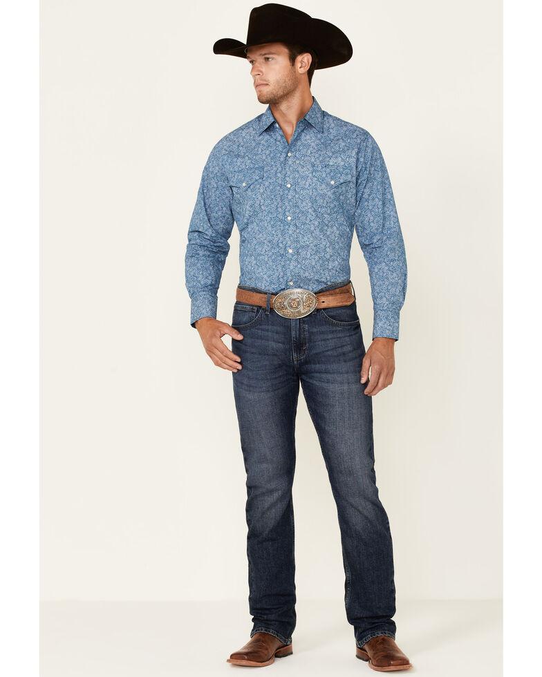 Ely Walker Men's Assorted Paisley Print Long Sleeve Snap Western Shirt , Multi, hi-res