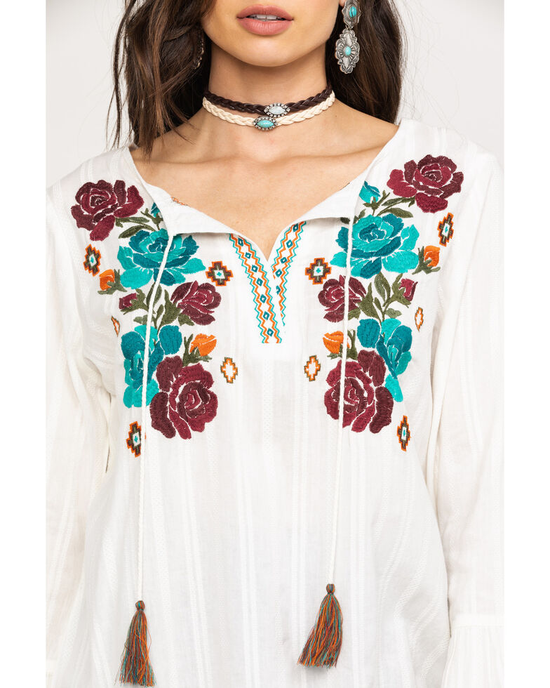 Ariat Women's Reflections Tunic, White, hi-res