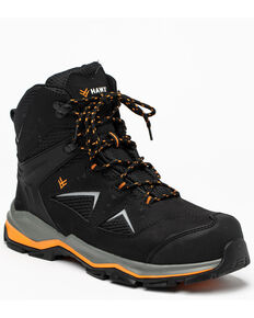 Hawx Men's Athletic Hiker Boots - Composite Toe, Black, hi-res