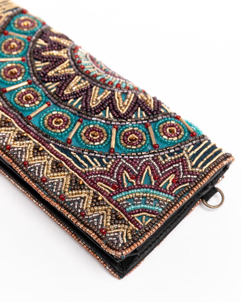 Mary Frances Women's Feel The Beat Wallet Crossbody Bag, Multi, hi-res