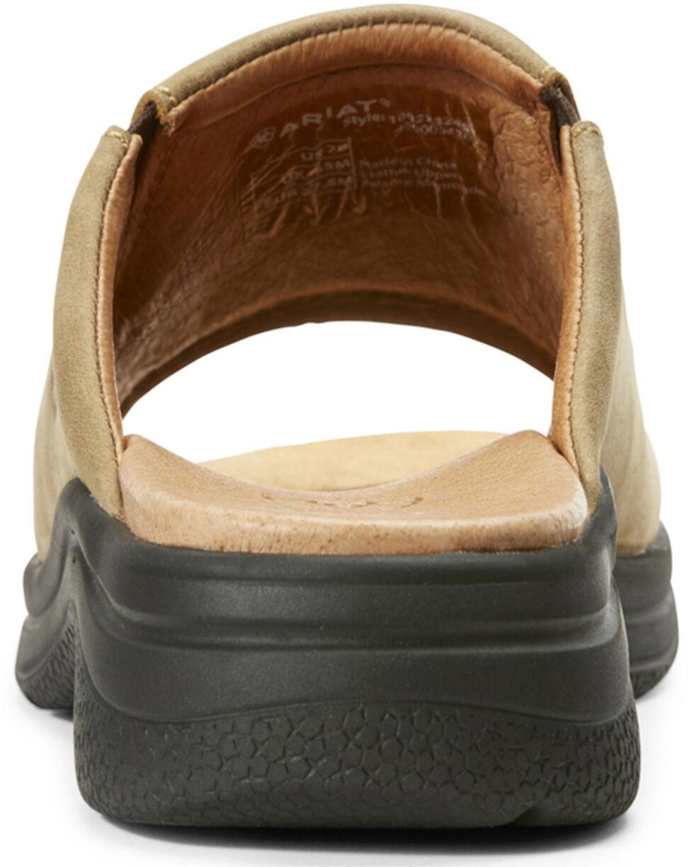Ariat Women's Bridgeport Bomber Sandals, Brown, hi-res