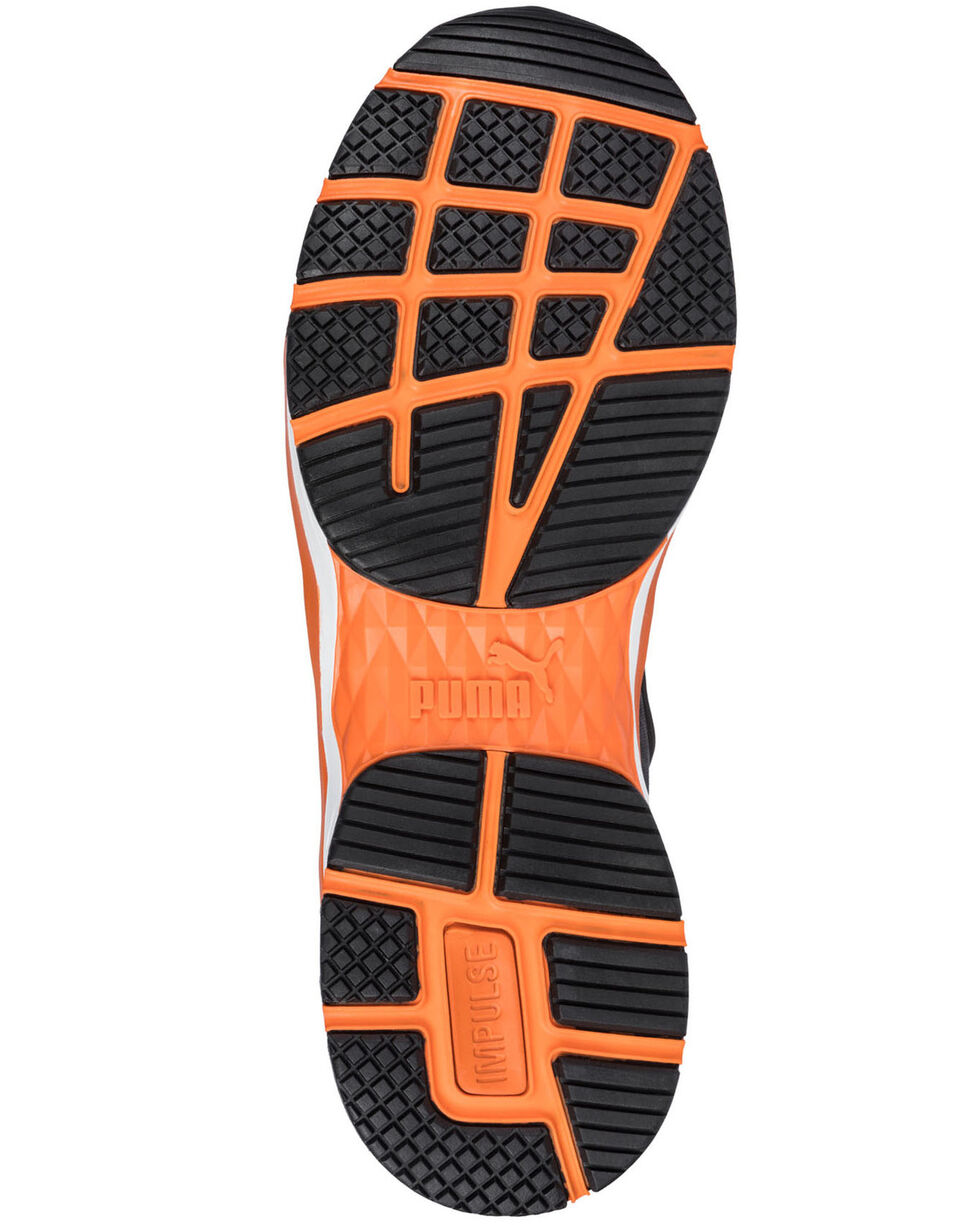 Puma Men's Rush Work Shoes - Composite Toe, Black, hi-res