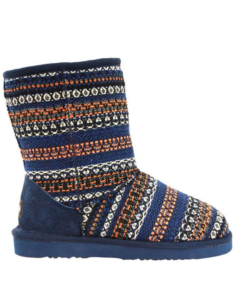 Lamo Footwear Women's Juarez Southwestern Boots - Round Toe, Navy, hi-res