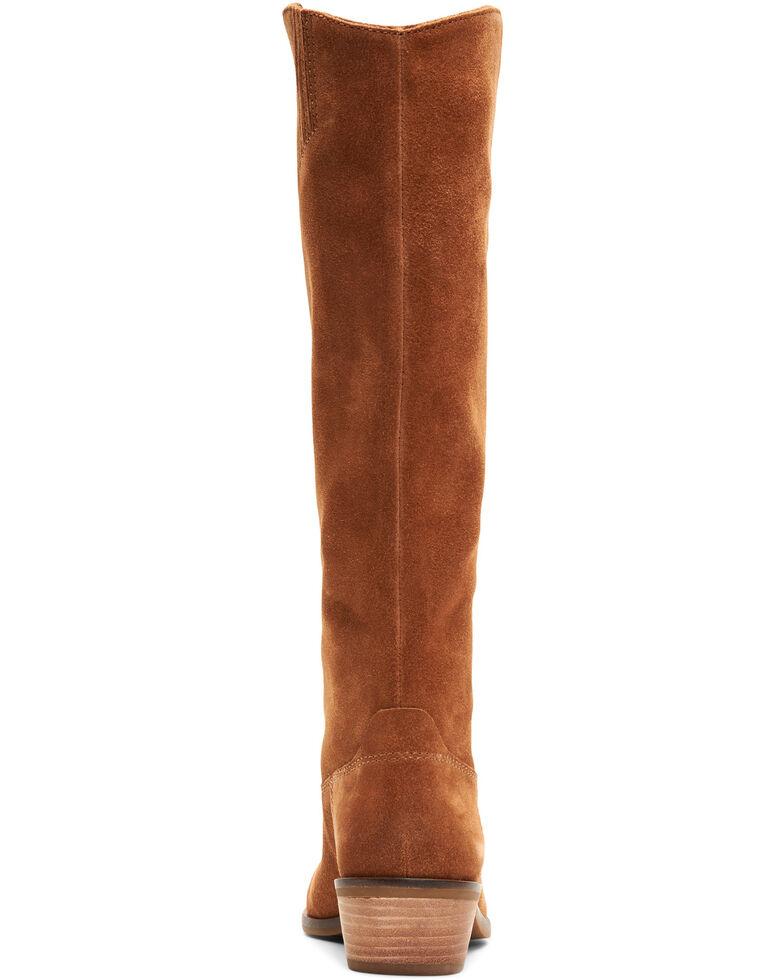 Frye & Co. Women's Caden Tall Stitch Western Boots, Cognac, hi-res