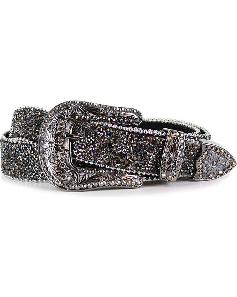 Shyanne Women's Crystal Studded Belt, , hi-res