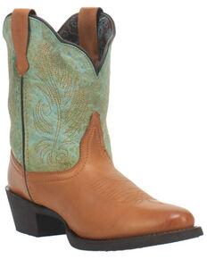Laredo Women's Tori Western Boots - Round Toe, Brown, hi-res