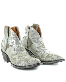 Old Gringo Women's Cate Short Western Booties - Snip Toe, Sand, hi-res