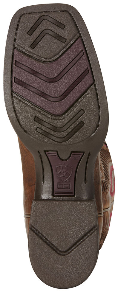 335ae6d5476 Ariat Brown Women's Quickdraw Venttek Boots - Wide Square Toe