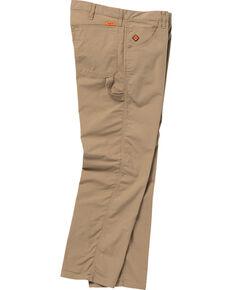 Wrangler Men's Tan Flame Resistant Carpenter Straight Jeans , Tan, hi-res