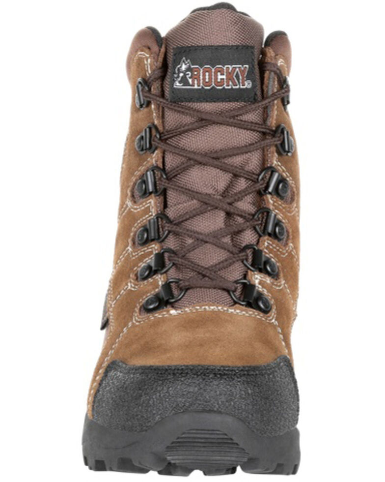 Rocky Boys' Insulated Outdoor Boots - Soft Toe, Brown, hi-res