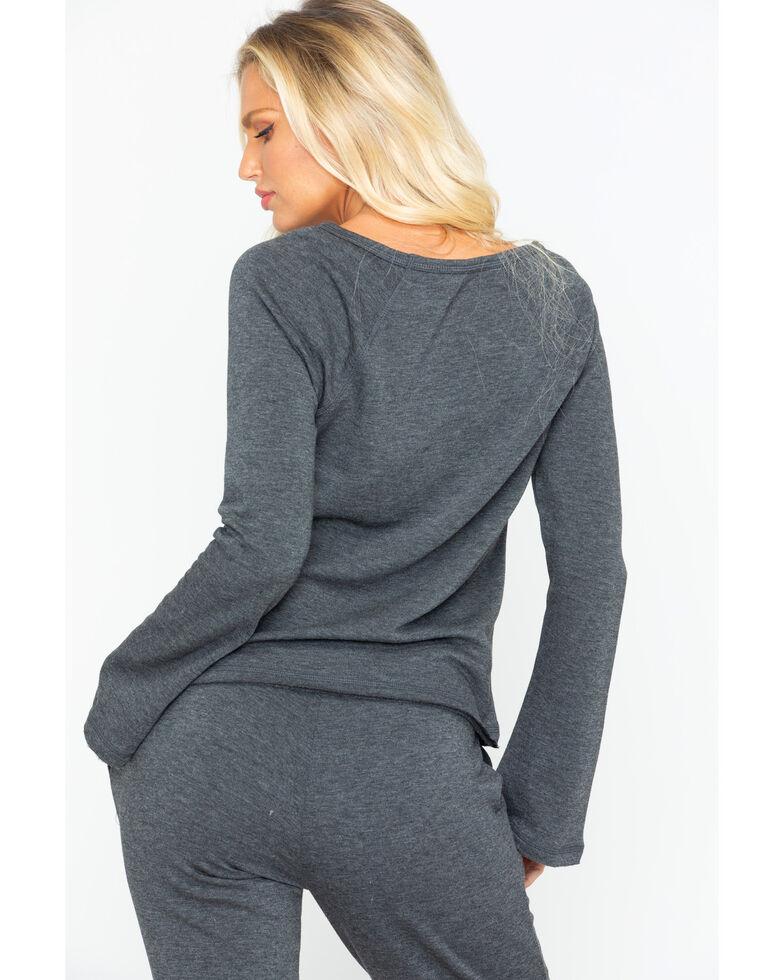 Idyllwind Women's Sunday Best Favorite Fleece Top, Grey, hi-res