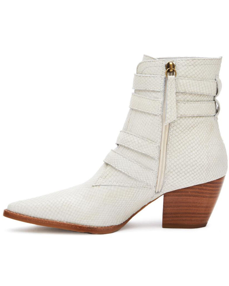 Matisse Women's White Harvey Fashion Booties - Pointed Toe, White, hi-res