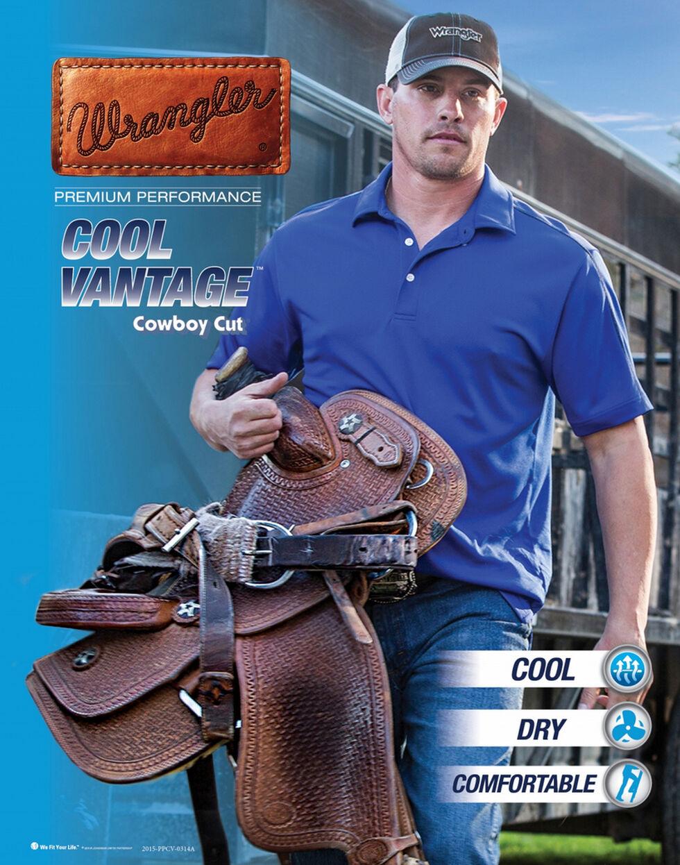 Wrangler Men's Cool Vantage Premium Performance Cowboy Cut Slim Fit Jeans, Light Stone, hi-res