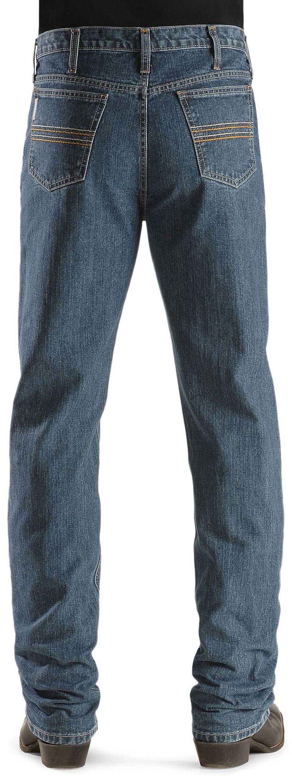 Cinch Silver Label Straight Leg Jeans, Indigo, hi-res