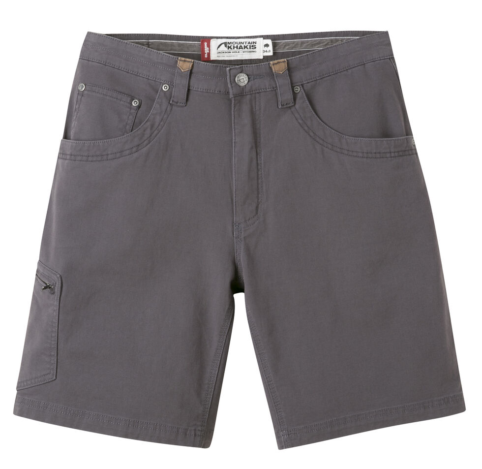 "Mountain Khakis Men's Classic Fit Camber 107 Shorts - 11"" Inseam, Slate, hi-res"