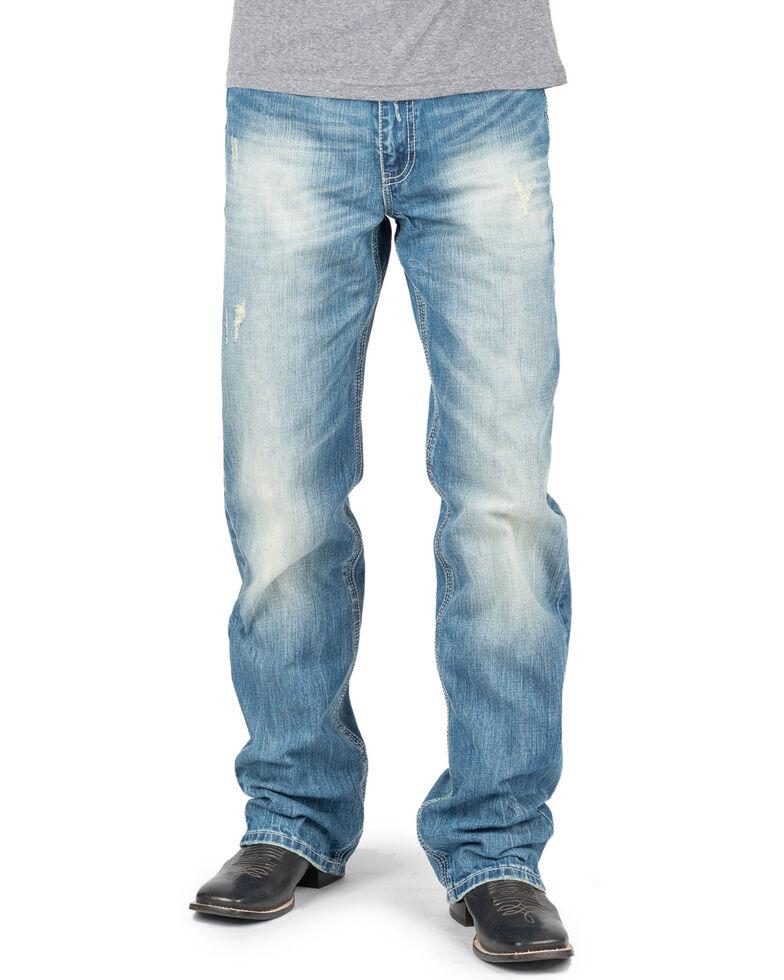 Tin Haul Men's Regular Joe Fit Boot Cut Jeans , Indigo, hi-res
