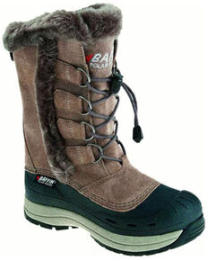 Baffin Women's Taupe Chloe Suede Leather Tundra Work Boot , Taupe, hi-res